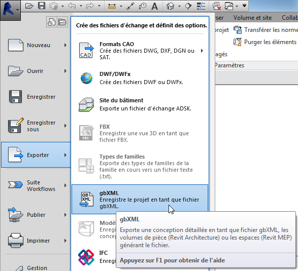 Revit (Pleiades BIM) — Documentation des logiciels IZUBA